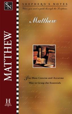 Shepherd's Notes: Matthew (eBook)