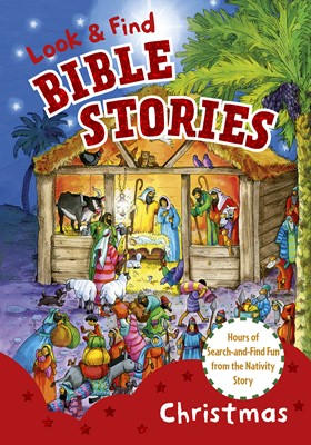 Look and Find Bible Stories: Christmas (eBook)