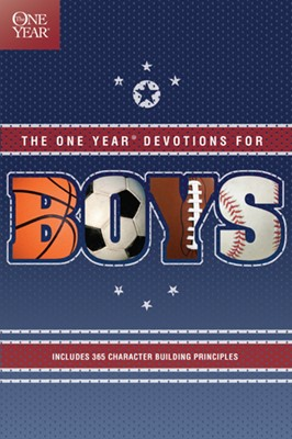 The One Year Devotions for Boys (eBook)