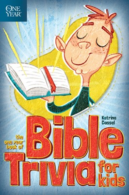 The One Year Book of Bible Trivia for Kids (eBook)