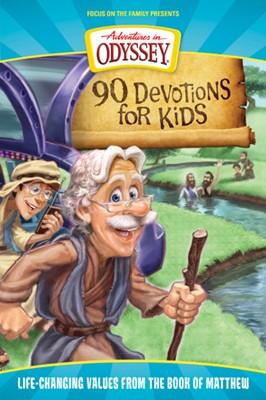 90 Devotions for Kids in Matthew (eBook)