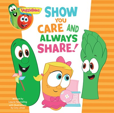 VeggieTales: Show You Care and Always Share, a Digital Pop-Up Book (eBook)