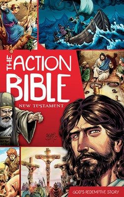 The Action Bible New Testament (eBook)