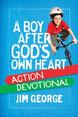 A Boy After God's Own Heart Action Devotional (Digital delivered electronically)