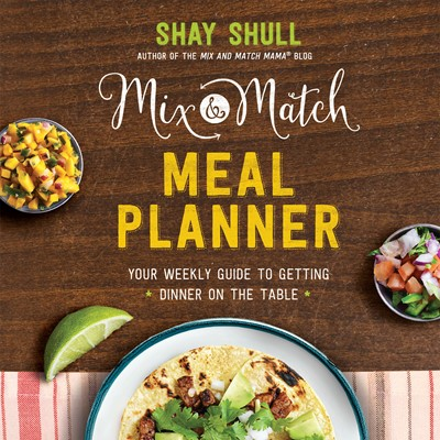 Mix-and-Match Meal Planner (Digital delivered electronically)