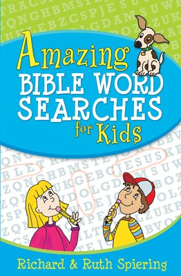 Amazing Bible Word Searches for Kids (Digital delivered electronically)