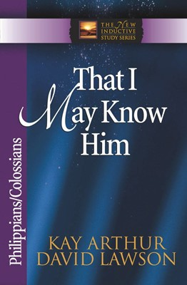 That I May Know Him (Digital delivered electronically)