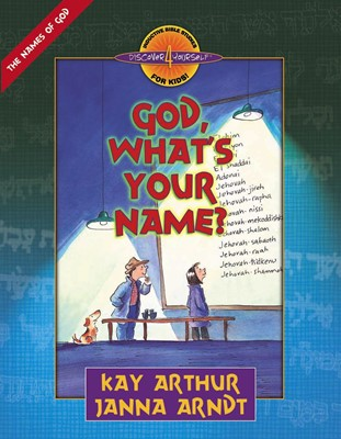 God, What's Your Name? (Digital delivered electronically)
