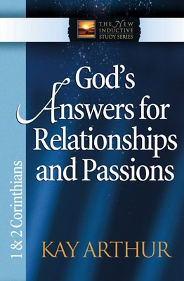God's Answers for Relationships and Passions (Digital delivered electronically)