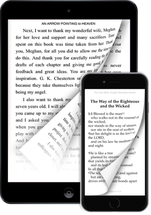 CLC eBooks reader app for iPhone and iPad