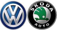 Skoda and Volkswagen