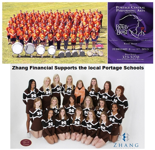 Wealth Management Company Supports Local Schools Image - Zhang Financial