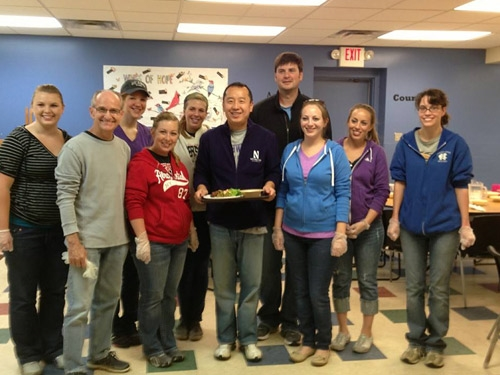 Financial Advisor, Local Youth Give Back Photo - Zhang Financial