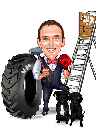 Drucker Personal Caricature