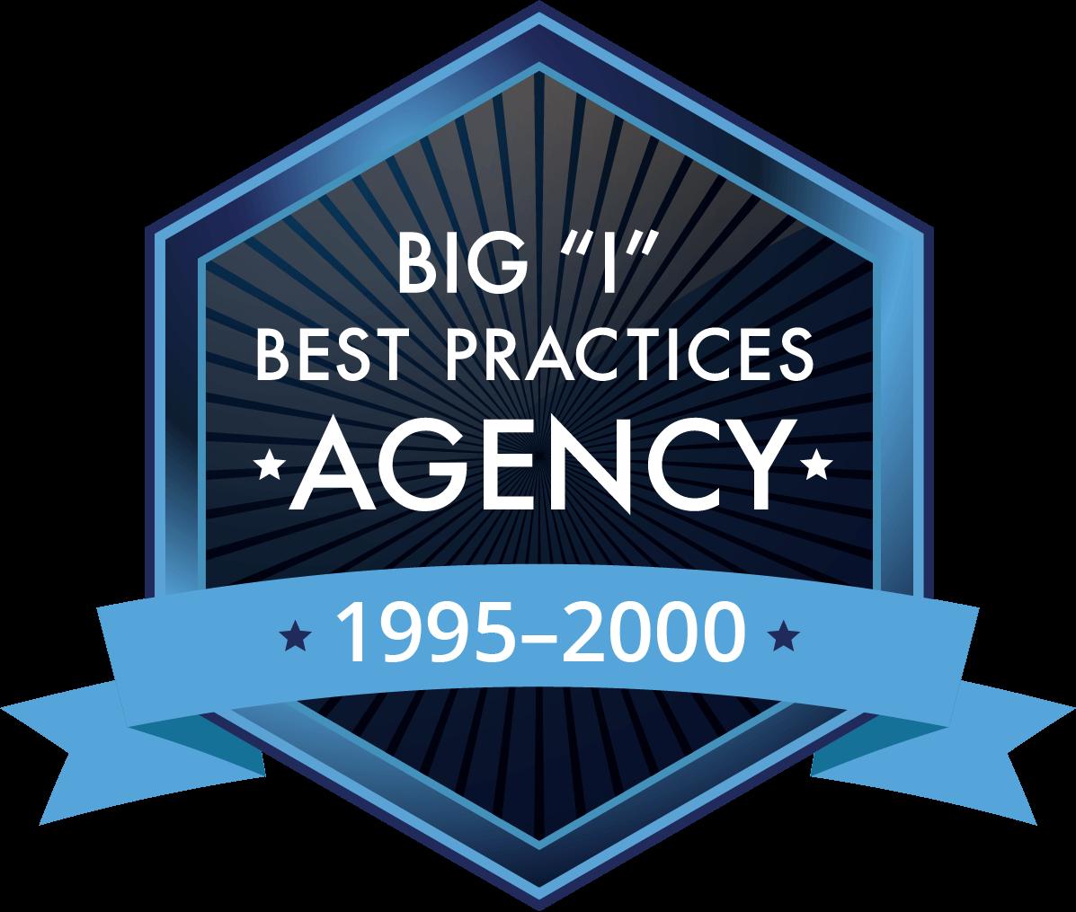 "Big ""I"" Best Practices Agency 1995-2000"