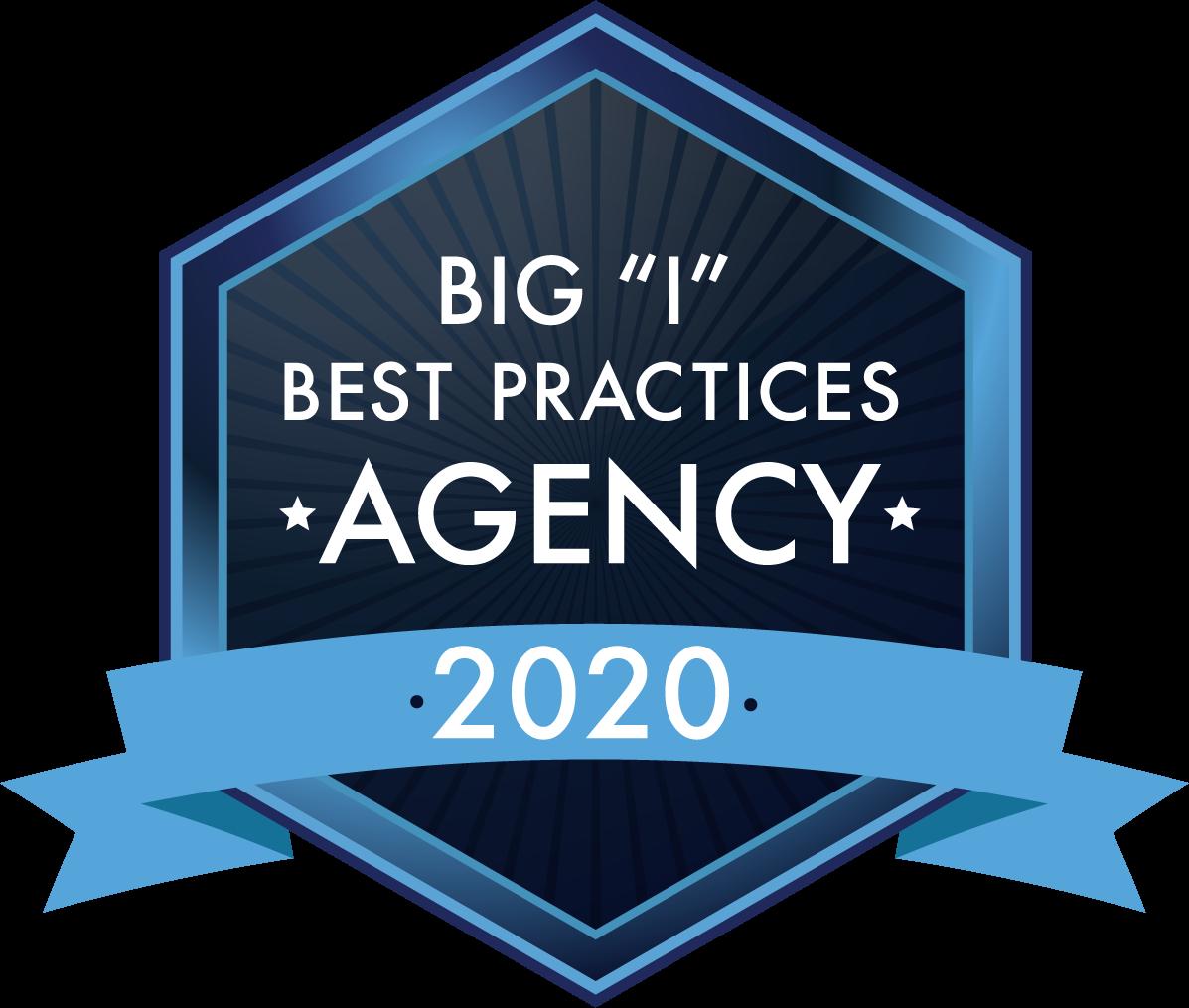 "Big ""I"" Best Practices Agency - 2020"