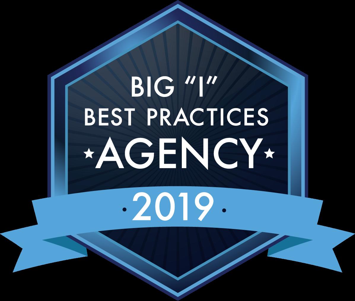 "Big ""I"" Best Practices Agency - 2019"