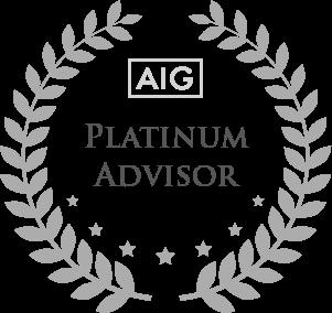 AIG Platinum Advisor Award Winner
