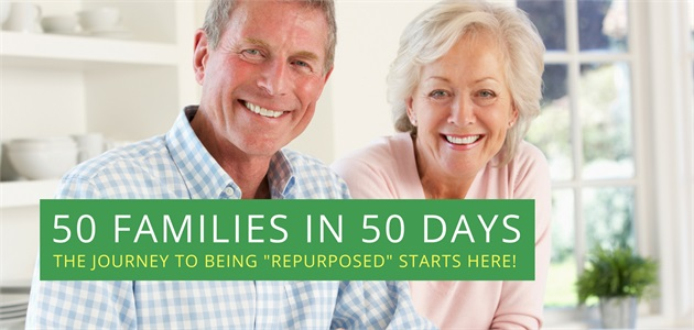50 Families in 50 Days