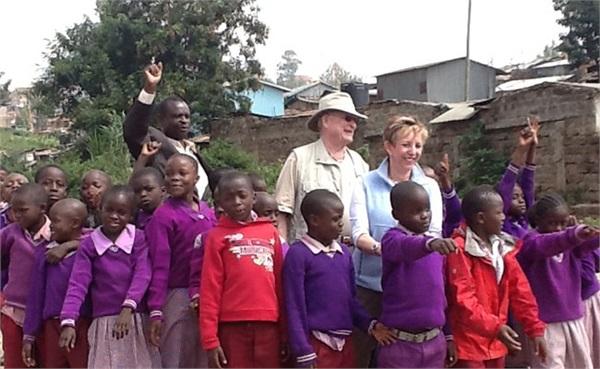 The Brownings in Kenya