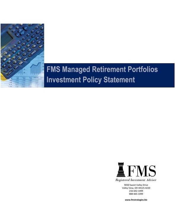 Retirement Plan Documents  Financial Management Strategies Inc