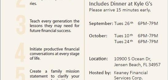 Family Financial Workshop