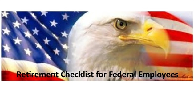 Federal Employees Retirement Checklist