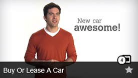 Buy or Lease a Car Video