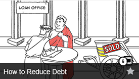How to Reduce Debt Video