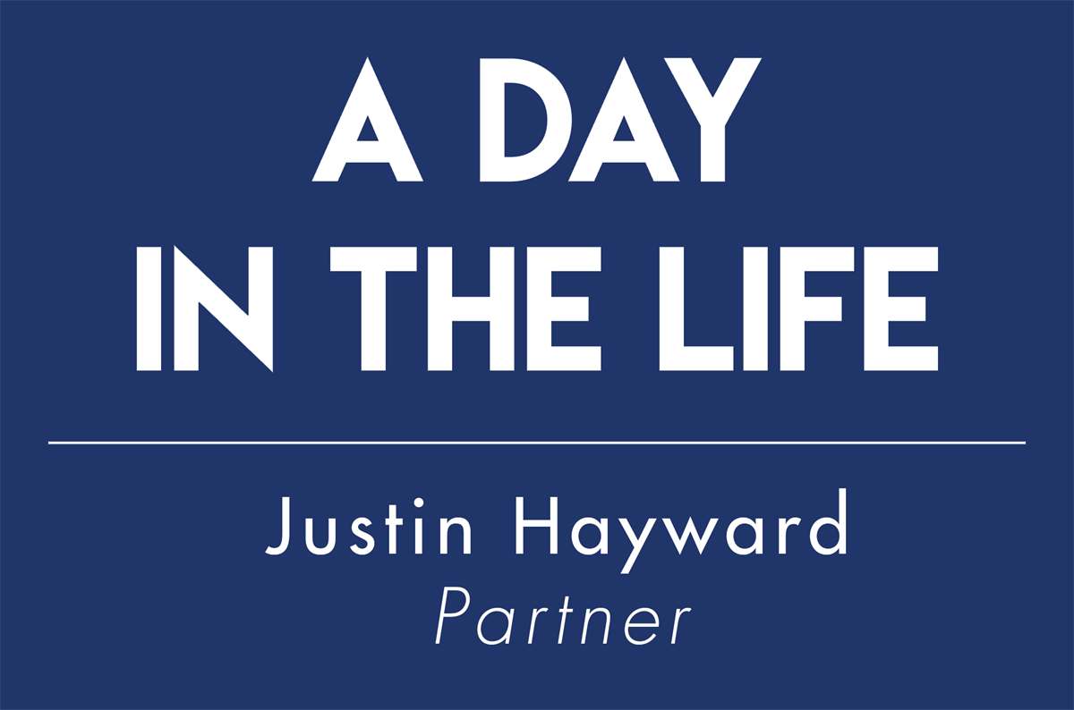 A Day in the Life: Justin Hayward
