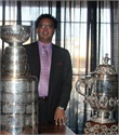 Rod with the Stanley Cup
