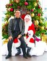 Rod with Santa