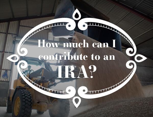 Contributing to an IRA?