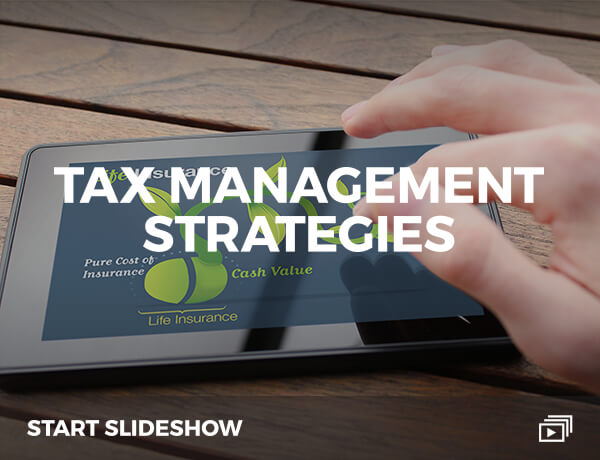 Tax Management Strategies