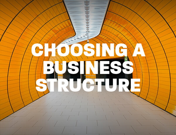 Choosing a Business Structure