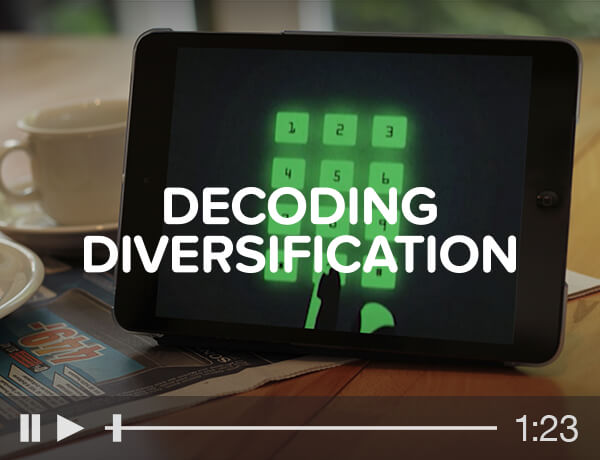 Jane Bond: Decoding Diversification