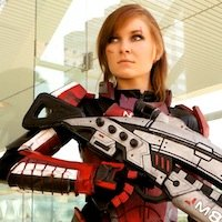 Commander Shepard Mass Effect Cosplay By Paigey Cosplay Com
