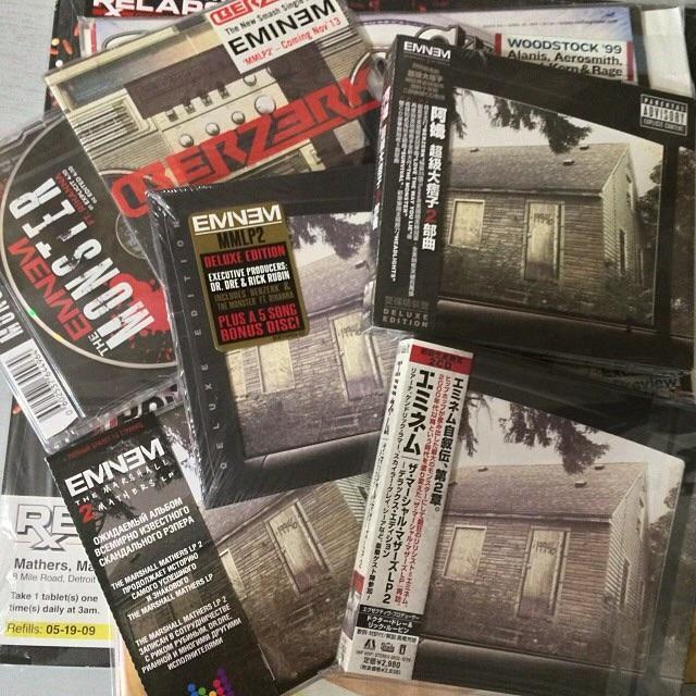 Eminem Forum View Topic Post Your Eminem Collection