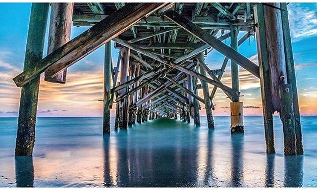 Tuesday PM . Photograph by: @strozzi27 . Loving this gorgeous capture taken beneath the Redington Long Pier...if you're looking for a great spot to take in a sunset, you really can't go wrong with this beautiful location!  Hope everyone's Tuesday was a good one- enjoy the remainder of it and we'll see y'all back here in the morning! ✌🏼️☺️ . Feature chosen by: @HaveSteph.WillTravel