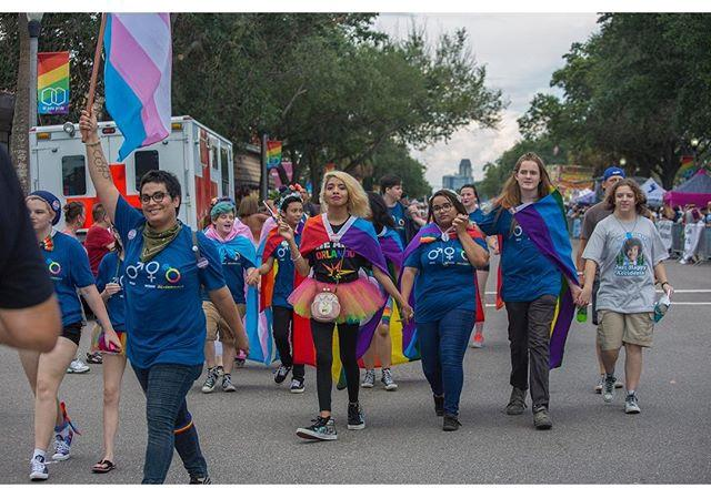 On to the fun, less sad photos from Pride! Caught this colorful grab marching through Central Avenue before the parade. (please do not save/share this photo without attribution.)