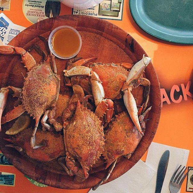 Feeling kinda crabby... Photograph by: @thisjenngirl . Florida knows seafood - and this plate of blue crabs has our mouth watering.  Don't forget, our friends at over at @igers_tampa want to know what's on your plate this weekend by tagging those foodie shots #WWIM14_Tampa!  Enjoy your dinner, peeps! 😋🍴 . Feature by: @ayce09