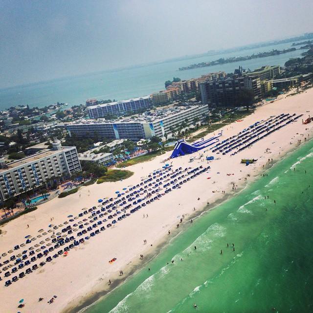 Incredible. The only way to describe it. #stpetebeach #tradewinds #GuyHarveyOutpost #bestbeach #lovefl #travel #travelgram #resort #vacation #springbreak #summer #getaway #destination #gulf #beach #giantslide #theplacetobe #liveamplified #cleargram #instaburg #justletgo #incredible