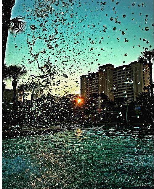 Through my lens... #photography #ig #picoftheday #water #waterdrops #sunset #clearwaterbeach #funday