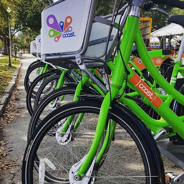 St Pete just got a bike share !! Can't wait to use them !! #ilovetheburg #dtsp #coastbikes #coastbikeshare