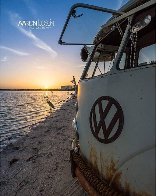@brentdesigns  #surfnsingle  #sunset #florida #beach #vw #pureflorida