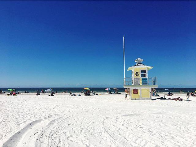 Commence Phase 2 of vacation #clearwaterbeach #tampa