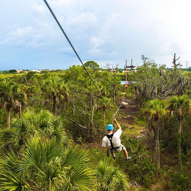 Zip on! The ziplines at Empower Adventures Tampa Bay are officially open to the public today!  @zipontampabay #LiveAMPlified #LoveFL #ziplining #oldsmar #igersstpete #cleargram