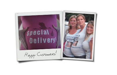 Personalized Maternity Tees