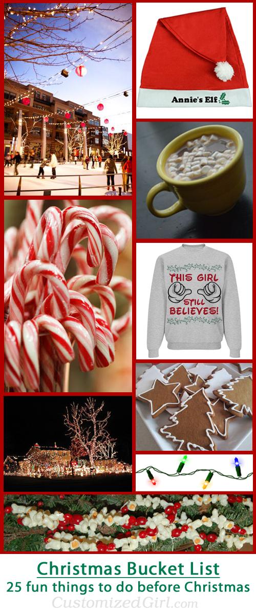 Christmas Bucket List: 25 fun things to do before christmas