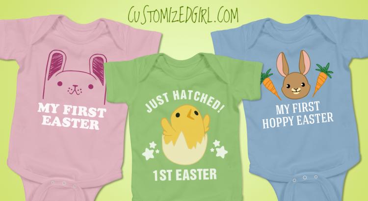 Easter Baby Onesies